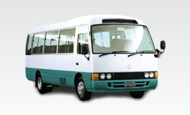 Toyota Coaster / 30 PLACES / (50) 2013-2014-2015-2016